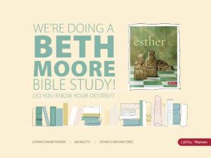 Beth Moore | Esther | Harpeth Baptist, Kingston Springs