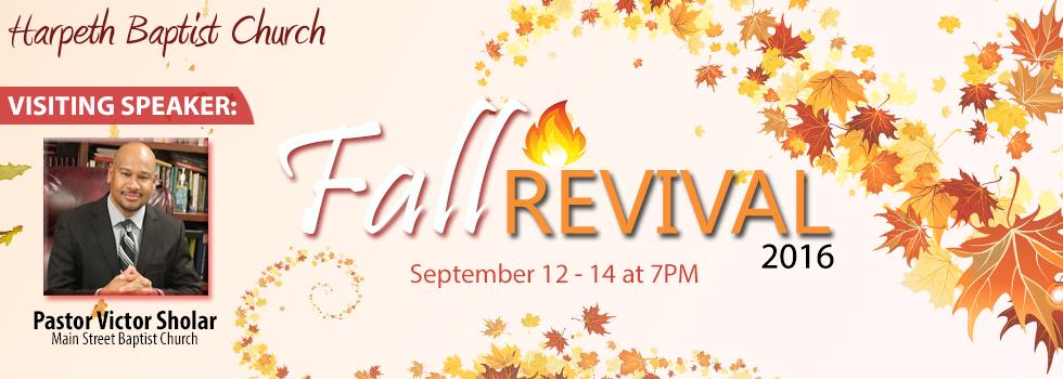 Fall Revival 2016 | Harpeth Baptist Church